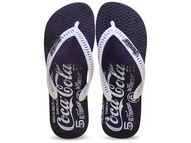 Chinelo Masculino Coca-cola Shoes Cc2099 Marinho/branco