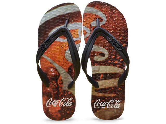 Chinelo Masculino Coca-cola Shoes Ccl2276 Preto