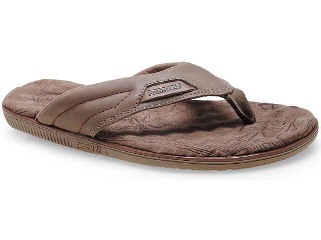 Chinelo Masculino Free Way Easy-2 Capuccino