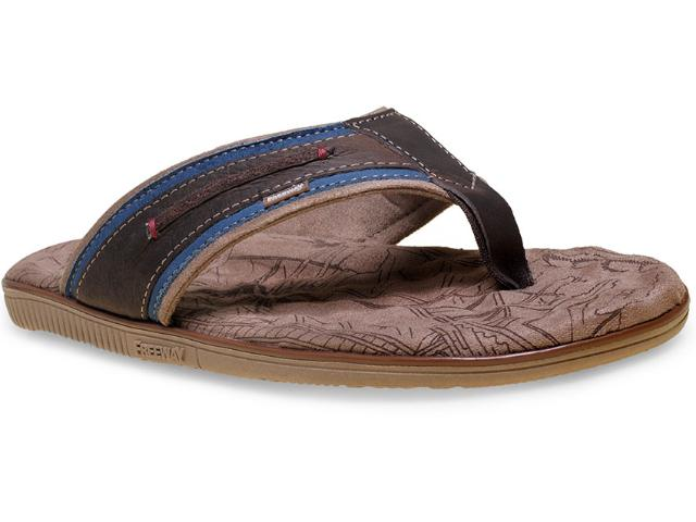 Chinelo Masculino Free Way Easy-5 Café/azul