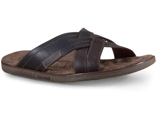 Chinelo Masculino Free Way Easy-04 Dexter Capuccino