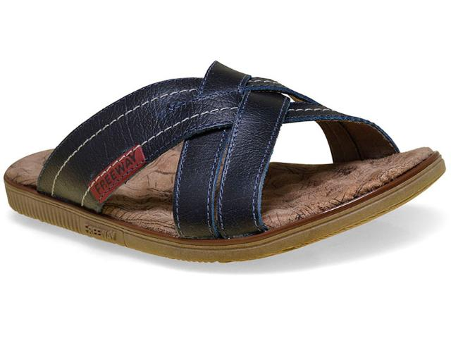 Chinelo Masculino Free Way Easy-4 Azul Cobalto