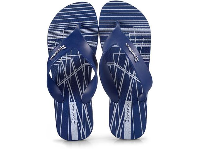 Chinelo Masculino Grendene 25662 Ipanema Deck Azul