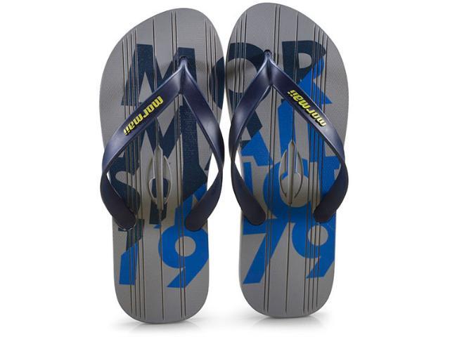 Chinelo Masculino Grendene 10591 21929 Mormaii Tropic Cinza/azul