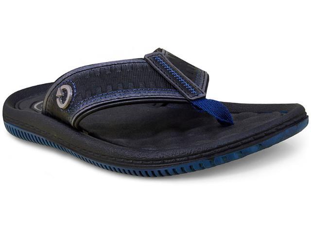 Chinelo Masculino Grendene 11020 Cartago Fiji i Azul/preto