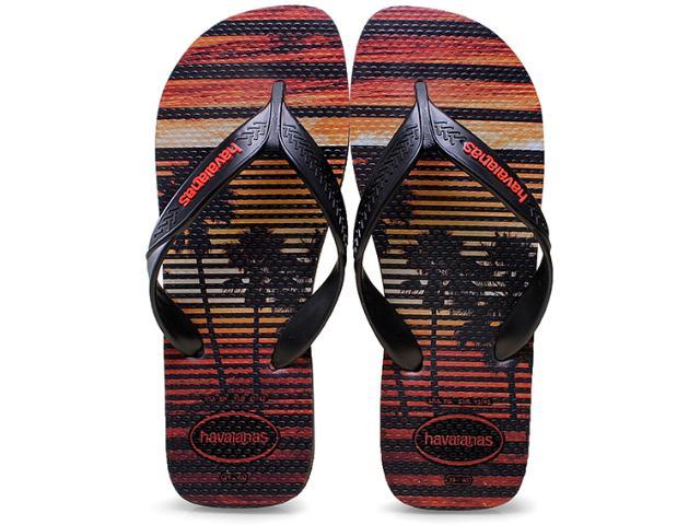 Chinelo Masculino Havaianas Surf  Cinza Chumbo/preto