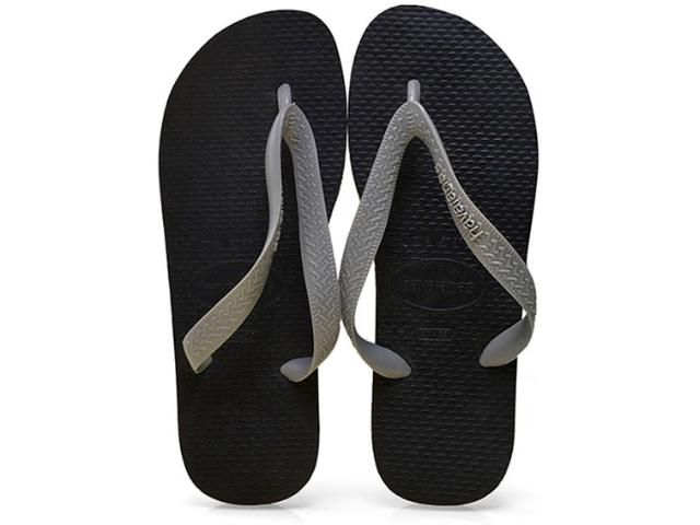 Chinelo Feminino Havaianas Color Mix Preto/cinza