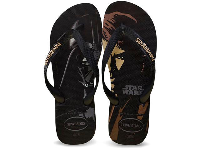 Chinelo Masculino Havaianas Star Wars Preto
