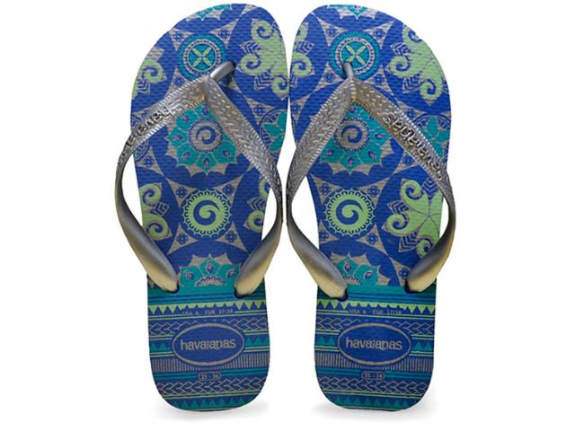 Chinelo Feminino Havaianas Spring Azul