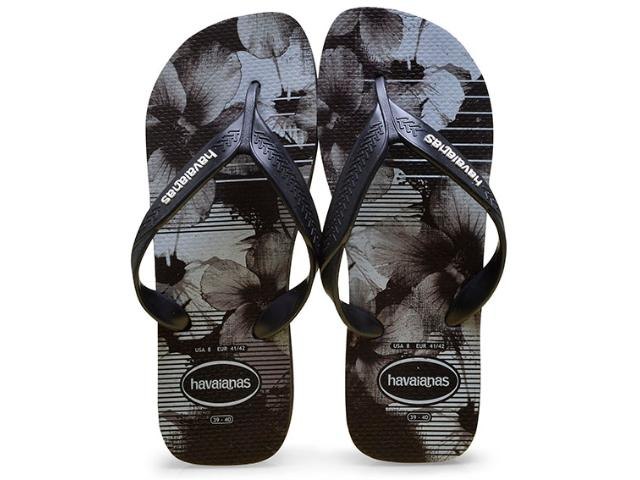 Chinelo Masculino Havaianas Surf Preto/branco