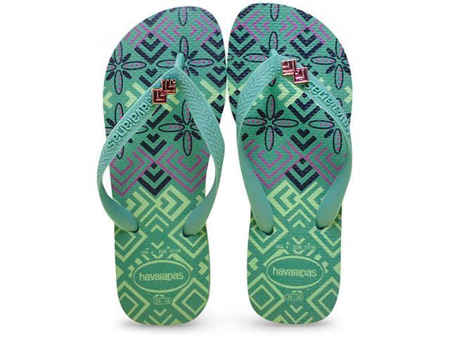 Chinelo Feminino Havaianas Top Gracia cf Verde Cha