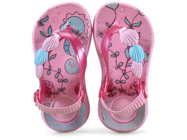 Chinelo Fem Infantil Klin 442.075 Rosa/pink