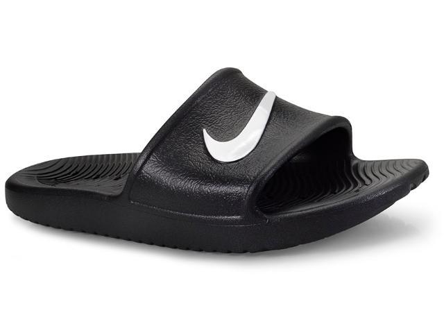 Chinelo Masculino Nike 832528-001 Kawa Shower Preto/branco