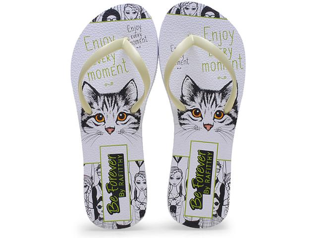 Chinelo Feminino Rafitthy 110.51703 Enjoy Every Momentcolor