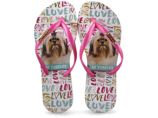 Chinelo Feminino Rafitthy 110.91702 be Forever Lhasa Trace Love Pink