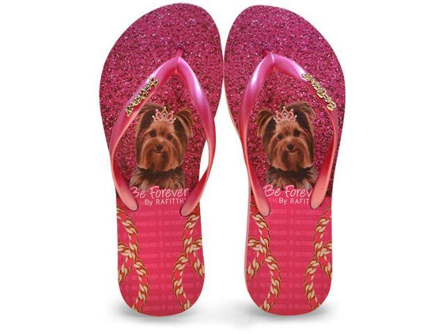 Chinelo Feminino Rafitthy 110.71701 Glitter York Pink