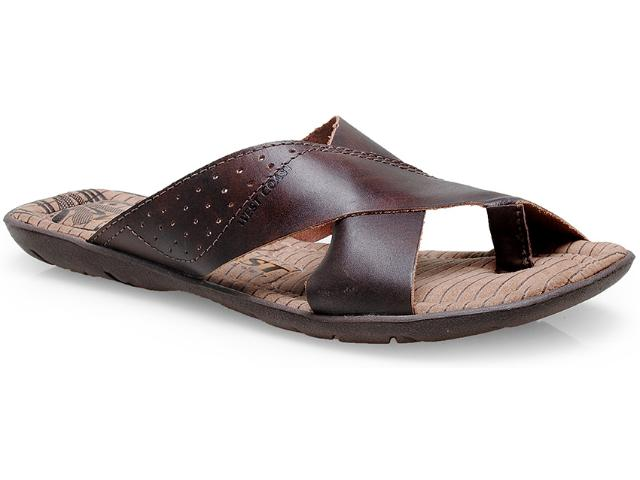 Chinelo Masculino West Coast 47671/03 Café