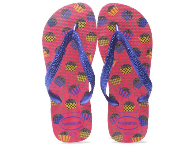 Chinelo Feminino Havaianas Honey Pink Neon