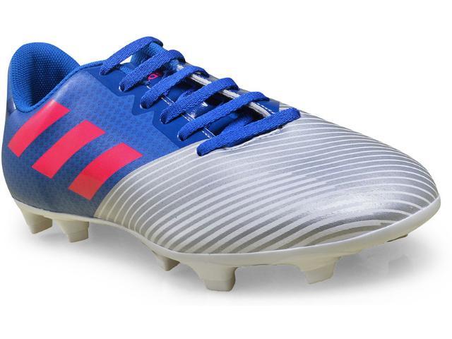 Chuteira Masculina Adidas H68433 Artilheira ii Azul/prata/pink