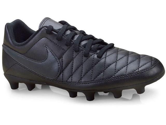 Chuteira Masculina Nike Aq7902-001 Majestry fg Preto