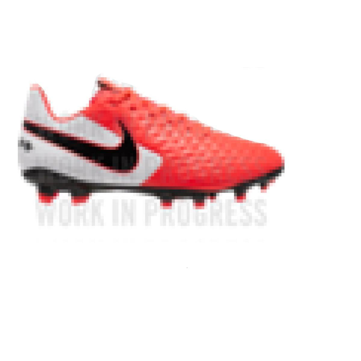 Chuteira Masculina Nike At5292-606 Tiempo Legend 8 Academy Laranja/branco/preto