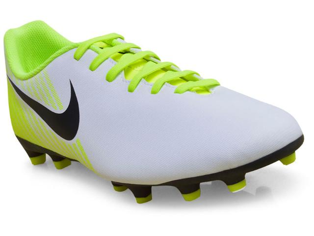 Chuteira Masculina Nike 844420-107 Magista Ola ii Branco/limão