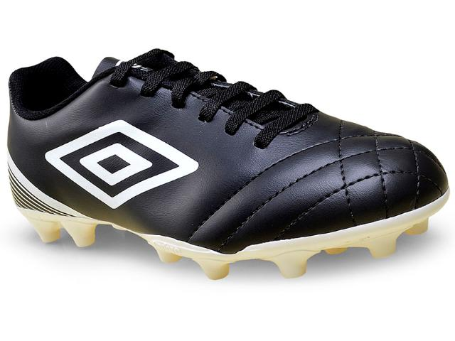 Chuteira Masculina Umbro Of70050 122 Striker Iii  Preto/branco