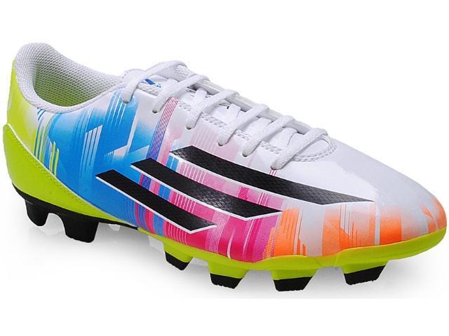 Chuteira Masculina Adidas F32749 f5 Trx fg Messi Branco/color