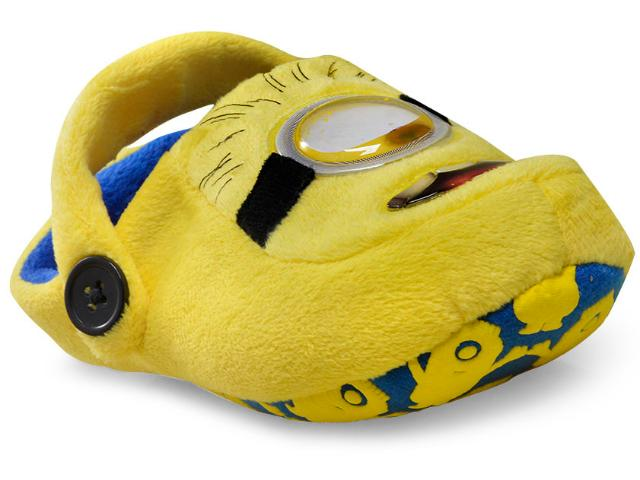 Crocs Masc Infantil Ricsen 11201 Kick Minions Amarelo
