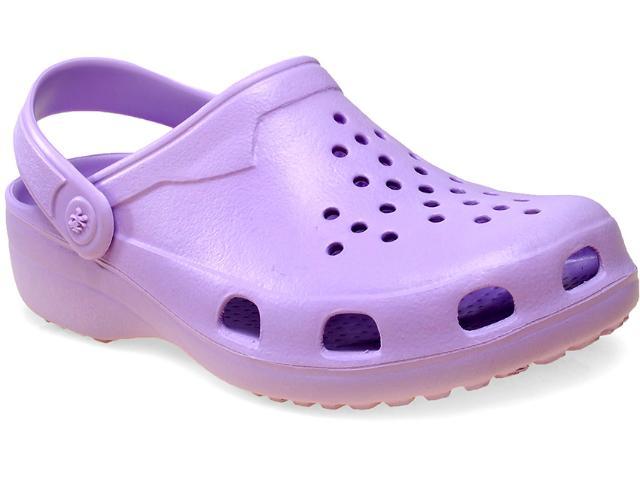 Crocs Feminino Soft Mania Bb20 Ameixa