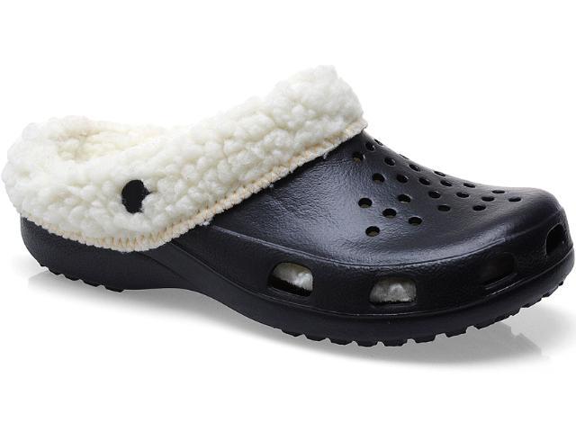 Crocs Masculino Soft Mania Bb22 Preto