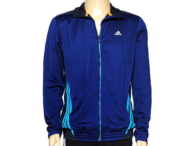 Jaqueta Masculina Adidas F48865 Knit Clima 3s Ess Mid Marinho