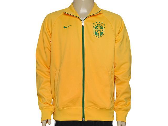Jaqueta Masculina Nike 598255-703 Cbf Core Trainer Jkt Amarelo