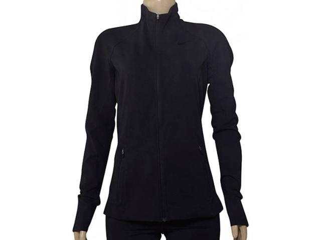 Jaqueta Feminina Nike 803079-010 Training Jacket Preto
