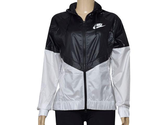 Jaqueta Feminina Nike 804947-010 w Nswwr Jkt Preto/branco