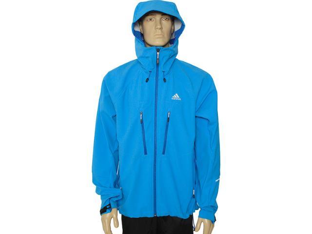 Jaqueta Masculina Adidas V37112 Azul Bic