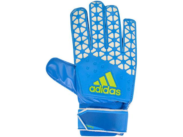 Luva Masculina Adidas Ah7809 Ace Training Azul/off White