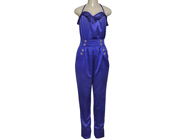 Macacão Feminino Moikana 5601 Azul