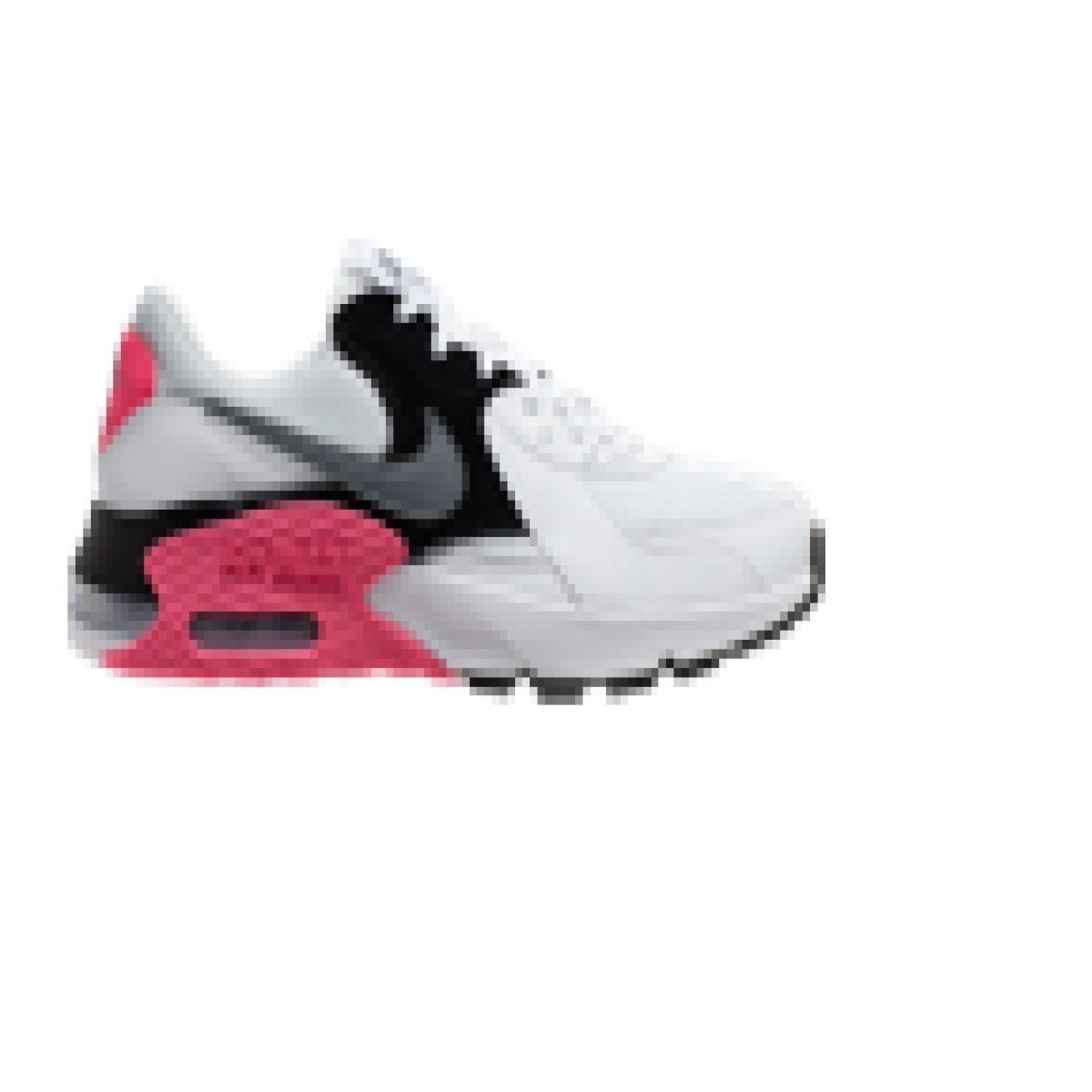 Tênis Feminino Nike Cd5432-100 Air Max Excee Branco/rosa
