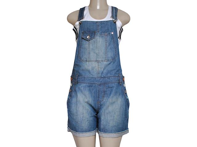 Macaquinho Feminino Dona Florinda 50757 Jeans