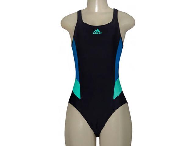 Maiô Feminino Adidas Ay6850 i Ins Preto/azul/verde