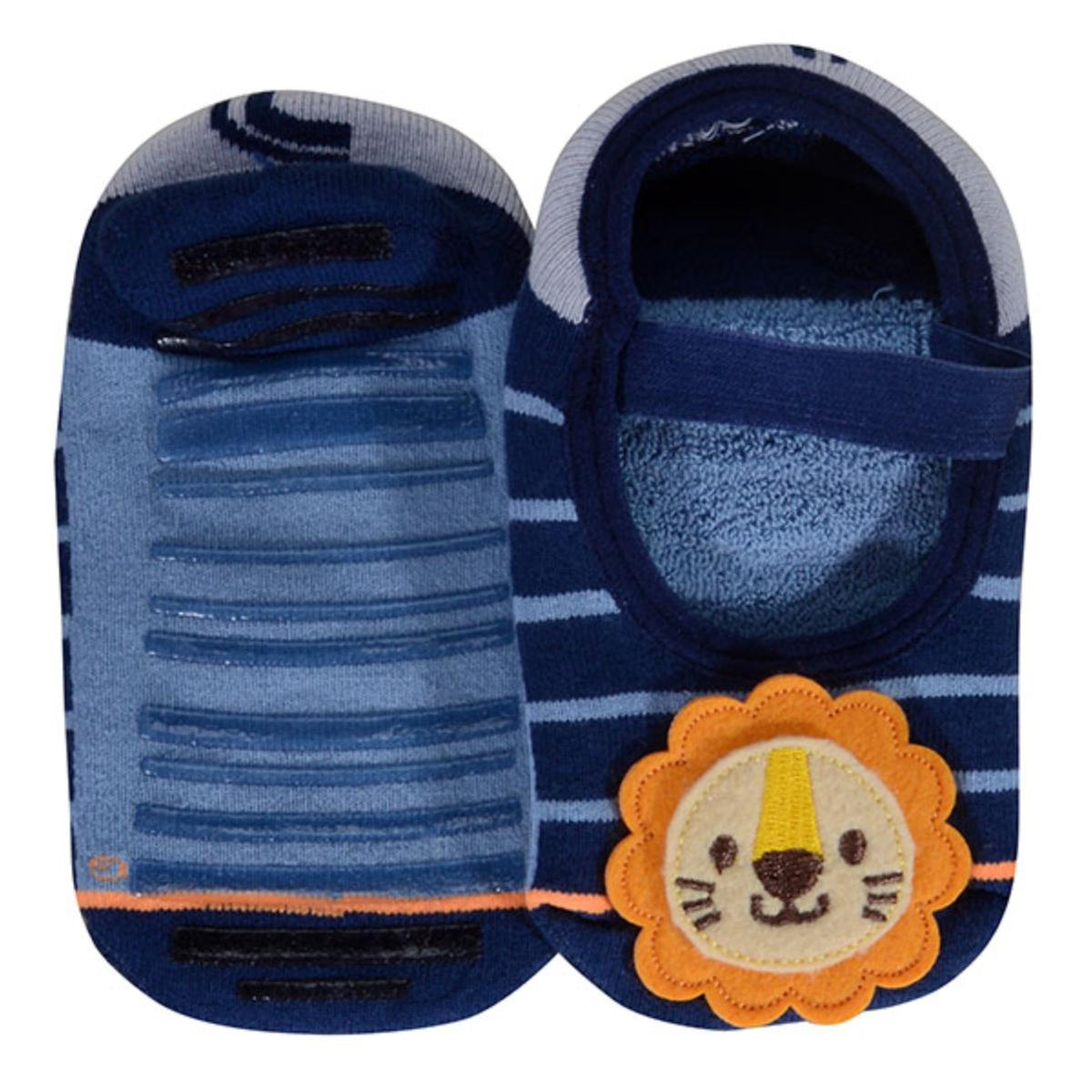 Meia Sapatilha Masc Infantil Lupo 11251 005 2560 Azul