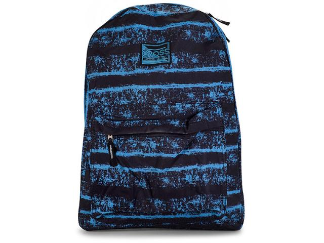 Mochila Masc Infantil Lavit Cr8122 Preto/azul