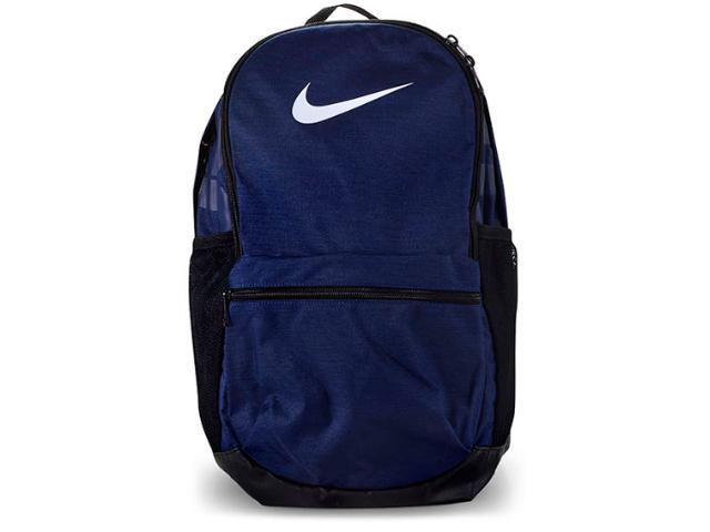 Mochila Masculina Nike Ba5329-410 Brasilia Backpack Marinho/grafite