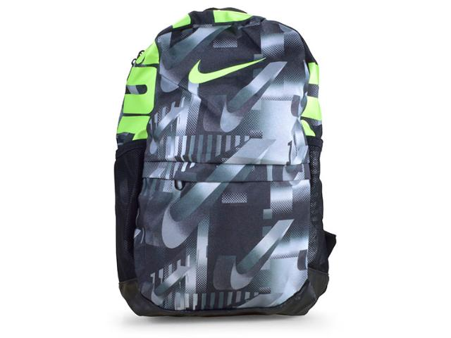 Mochila Unisex Nike Ba5755-078 Brasilia Preto/limão