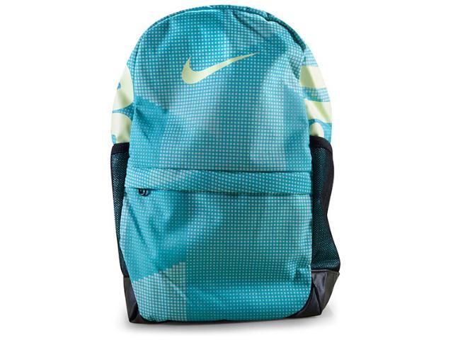 Mochila Masculina Nike Ba5755-317 Brasilia Preto/verde