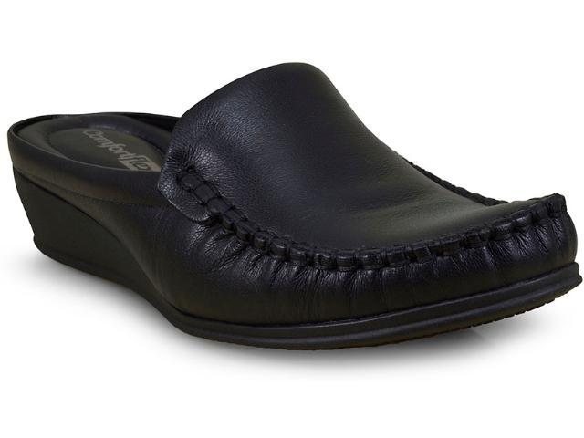 Mule Feminino Comfortflex 17-93401 Preto