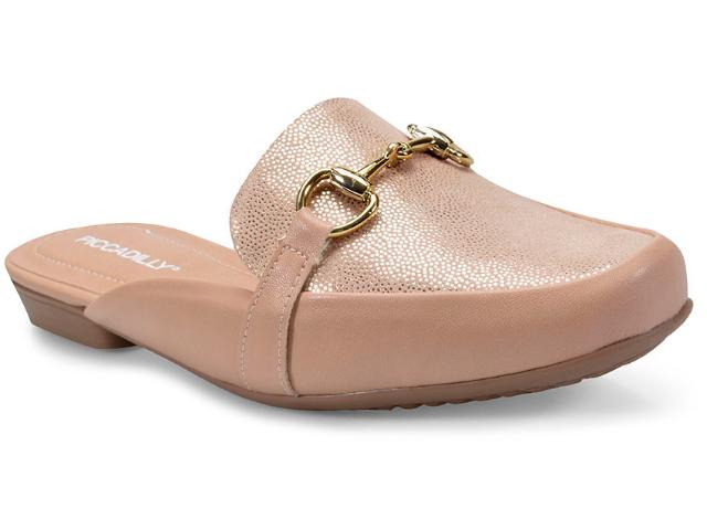 Mule Feminino Piccadilly 251002 Bege