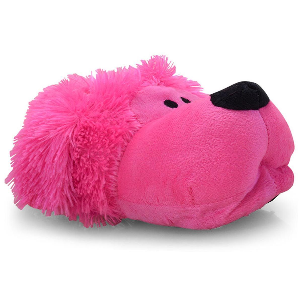 Pantufa Fem Infantil Europa 528 Poodle Pink