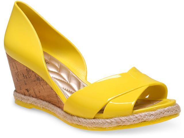 Peep Toe Feminino Petite Jolie Pj1447 Amarelo